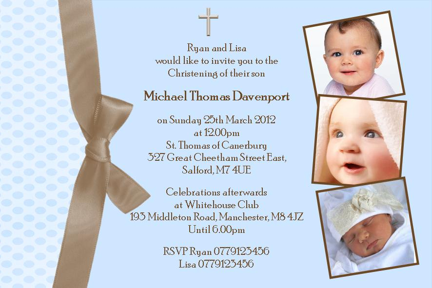 Christening invitation cards cherish moments stopboris Gallery